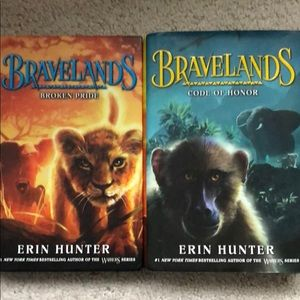 Bravelands by Erin Hunter books 1 and 2